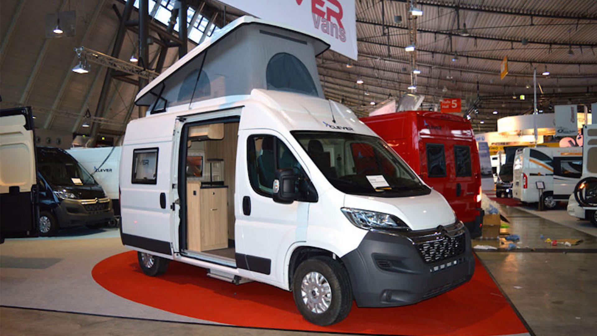 flexible envidia compromiso  Clever Vans Tour - KaravanTravel.cz
