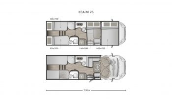 Mobilvetta Kea M 76 full